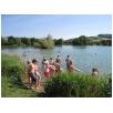 Ziel der 2-Tageswanderung Baggersee