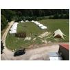 Aufbau des Lagers, bevor die Kinder kommen