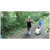Geländespiel im Wald: Vorsicht vor den Räubern